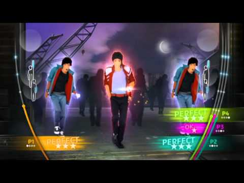 Michael Jackson The Experience – Wii – Beat It Gameplay Reveal [North America]