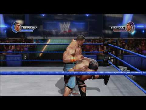 John Cena vs The Rock – WWE All Stars (New Video Game) Gameplay
