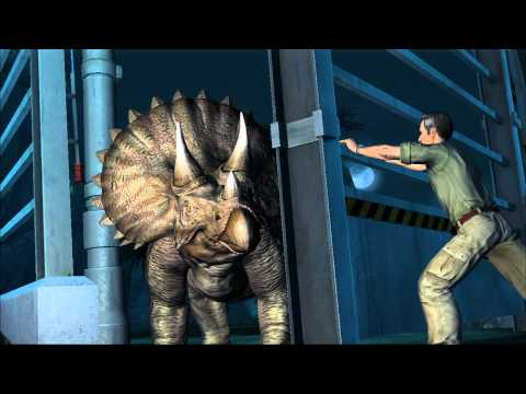 Jurassic Park: The Game Gameplay Demo (PC, PS3, Xbox 360)