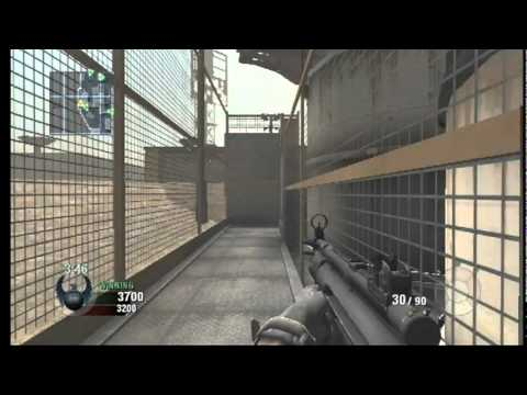 Call of Duty Black Ops Wii Gameplay Online Multiplayer + Killstreak PS3 | PC | XBOX | DS