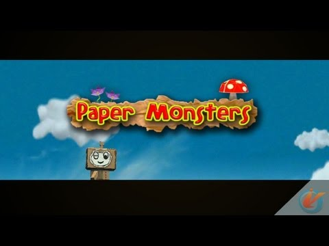 Paper Monsters Version 1.2 – iPhone Gameplay Preview