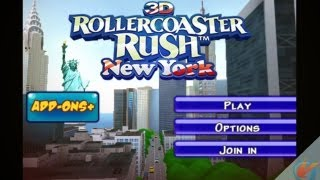 New York 3D Rollercoaster Rush – iPhone Gameplay Preview