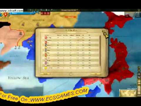 Europa Universalis III WII Gameplay Free Game