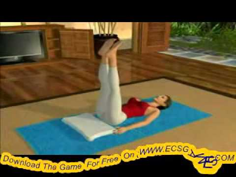 Daisy Fuentes Pilates WII Gameplay Free Game