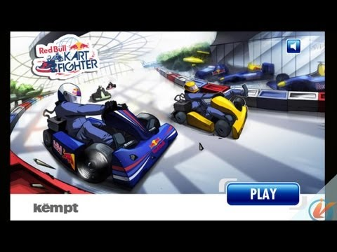 Red Bull Kart Fighter World Tour &#8211; iPhone Gameplay Preview`