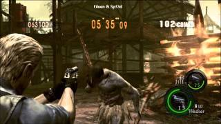 912K Village Wesker / Jill [Resident Evil 5 Mercenaries Duo]