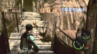 786K Village Double Jill WR [Resident Evil 5 Mercenaries Duo]