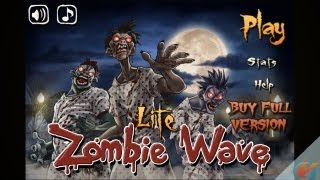 Zombie Wave Lite – iPhone Gameplay Preview