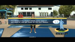 CGR Undertow &#8211; THE BIGGEST LOSER: ULTIMATE WORKOUT for Xbox 360 Video Game Review