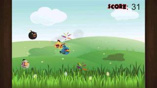 Angry Zombie Birds – iPhone Gameplay Preview