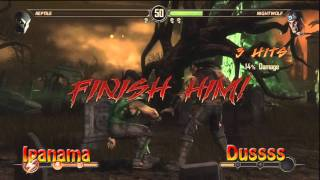 FV Mortal Kombat tournament Utrecht ::: Ipanama vs Dussss ::: Loser bracket pre finals