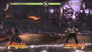 FV Mortal Kombat tournament Utrecht ::: Dussss vs Superbnova ::: Loser bracket semi finals