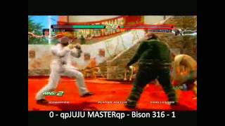Tekken 6 Xbox LIVE Tournament: GRAND FINALS: qpJUJU MASTERqp vs. Bison 316