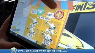 Paper Glider Crazy Copter 3D Android Game Review by Playandroid.com