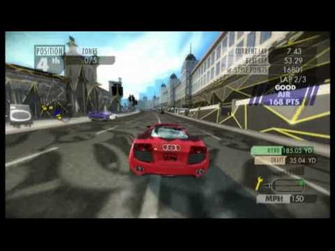 NEW NEED FOR SPEED NITRO 2009 GAME PLAY VIDEO