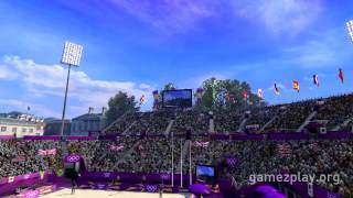 London 2012 &#8220;Horseguards beach volleyball&#8221; 2012 Olympic games trailer &#8211; PC PS3 X360