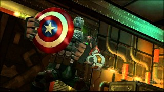 Captain America: Super Soldier Wii – Shield Gameplay