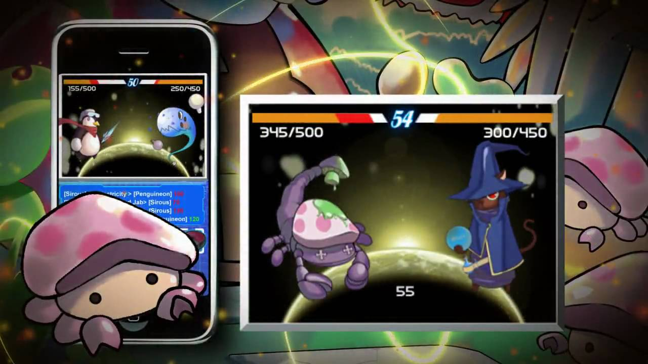 New iphone ipod game trailer-pokemon style RPG