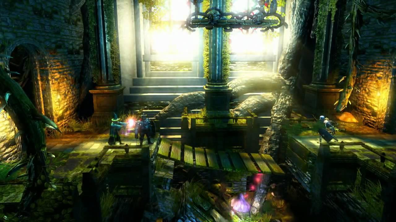 Trine Gameplay Trailer #2, April 2009 (PSN, PC)