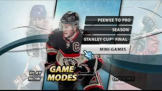 NHL Slapshot featuring Wayne Gretzky – Wii – developer blog official video game preview trailer HD