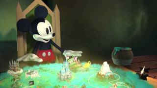 Disney Epic Mickey – Wii – Opening Cinematic CGI Movie official video game preview trailer HD