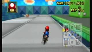 Mario Kart Wii Tournament-Block Plaza Time Trial