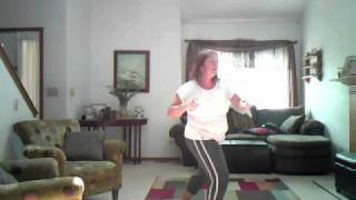 Wii Gold's Gym Dance Workout Demonstration