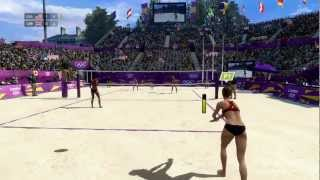 London 2012: The Official Video Game &#8211; Women&#8217;s Beach Volleyball