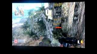 call duty world at war glitches cliffside xbox 360/wii 2012