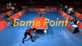 London 2012: The Official Video Game &#8211; Men&#8217;s Table Tennis