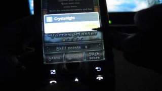 Android Games: Cryslallight & NFS Shift on LG Optimus Custom firmware