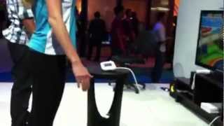 The New Wii U & Cute Girls at Nintendo Booth Don't Want to be Filmed :( (E3 2012)