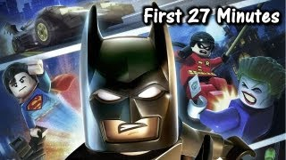 Wii &#8211; LEGO Batman 2 DC Super Heroes &#8211; First 27 Minutes