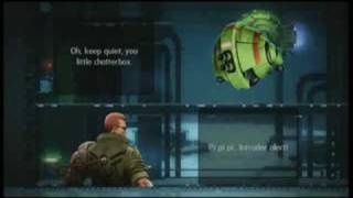 Classic Game Room HD – BIONIC COMMANDO REARMED review Pt1
