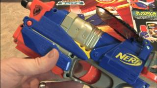 Classic Game Room HD – NERF SWITCH SHOT EX3 Wii Blaster