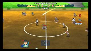 Inazuma Eleven Strikers WII GAMEPLAY! HD