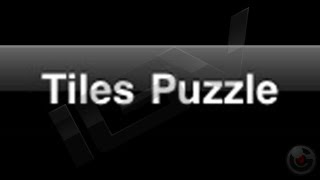 Tiles Puzzle &#8211; iPhone Gameplay Video