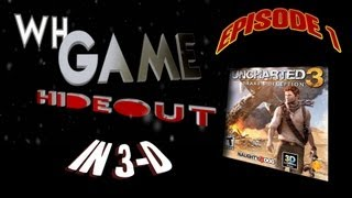 WH Game Hideout – 1 – Uncharted 3 in 3D, Mecho Wars, A Space Shooter for 2 Bucks