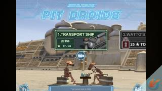 Star Wars Pit Droids – iPhone Game Trailer