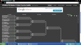Madden 13 Franchise Tournament Qualifier for PS3 is Now Live!!!