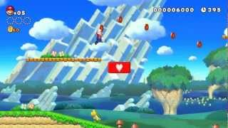 New Super Mario Bros. &#8211; Wii U &#8211; E3 2012 official video game debut preview trailer HD