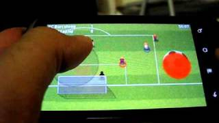 Striker soccer for Android gameplay