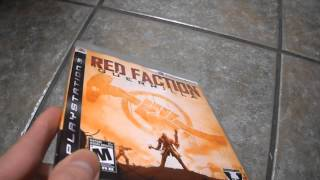 Contest Winner Red Faction Guerrilla Sony Playstation 3 PS3 THQ PSN volition inc blu-ray