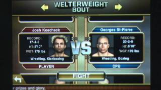 UFC® Undisputed™ 2010 iPhone Gameplay Review – AppSpy.com