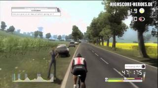 Tour de France 2011 PS3: Small Mountain Gameplay (720p HD)