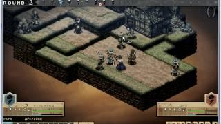 Chevaliers Saga Tactics Gameplay part 1