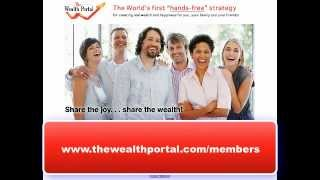 The Wealth Portal – First Time Login