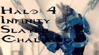 Halo 4 Infinity Slayer Challenge commentary