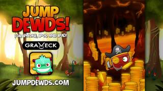 Jump Dewds! Official Trailer – Graveck's new iPhone game!