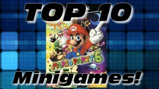 Mario Party &#8211; Top 10 Mario Party 6 Minigames!